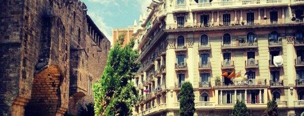 Plaça de l'Àngel is one of Barcelona.