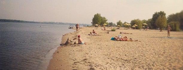 Міський пляж is one of Posti che sono piaciuti a Lenyla.