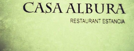 Casa Albura is one of Locais curtidos por Massiel.