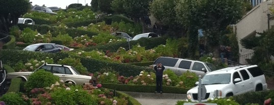 Lombard Street is one of 72 hours in San Francisco.