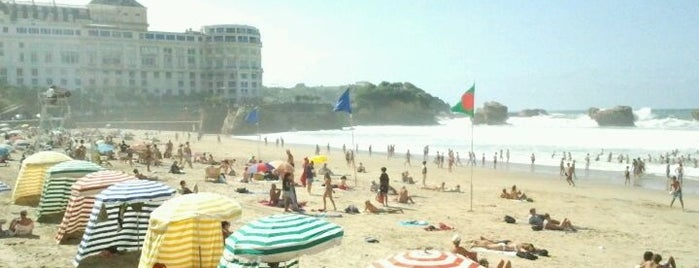 Grande Plage is one of Biarritz.