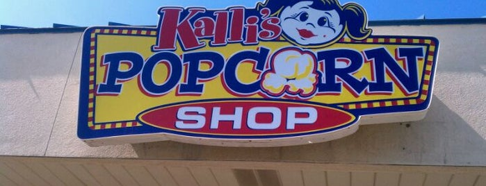 Kalli's Popcorn Shop is one of Want To Go.