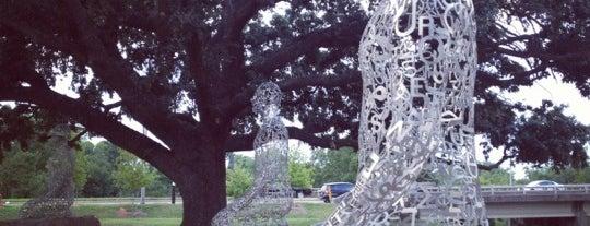 Buffalo Bayou Park is one of Houston.