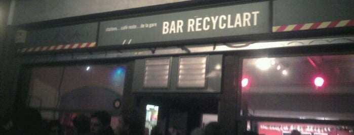 Recyclart is one of Br(ik Caféplan - part 1.
