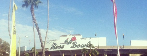 Rose Bowl Flea Market and Market Place is one of SoCal Musts.