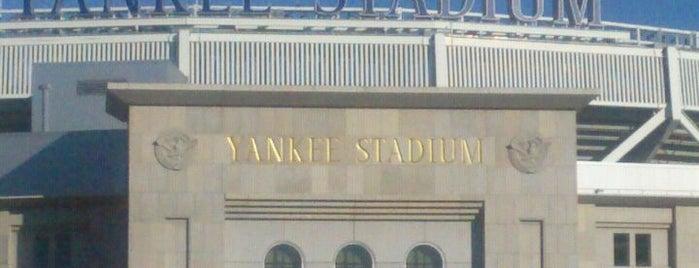 Yankee Stadium is one of Major League Baseball Parks.