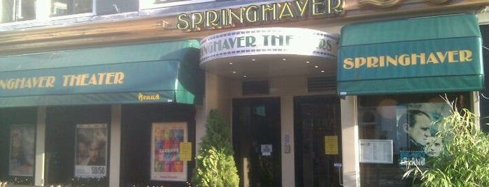Springhaver Theater is one of Cafe top 100 2012.