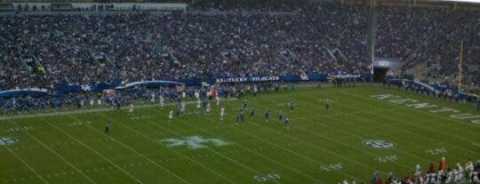 Kroger Field is one of SEC Football.