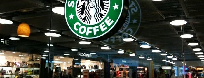 Starbucks is one of Geneva (GVA) airport venues.
