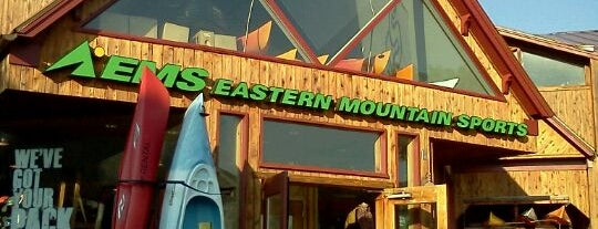 Eastern Mountain Sports is one of To Fly For.