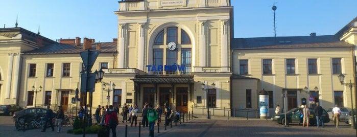 Dworzec PKP Tarnów is one of สถานที่ที่ Klaudia ถูกใจ.