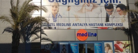 Medline Antalya Hastanesi is one of Gizem.