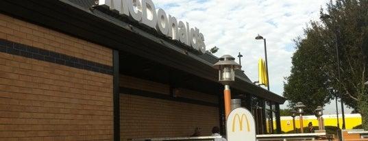 McDonald's is one of England.