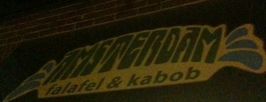 Amsterdam Falafel & Kabob is one of Drunk Mood Food.