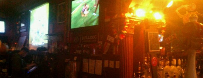 British Bulldog is one of Pubs/Bars to watch Fulham FC in the United States.