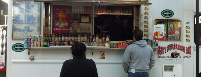 Pete's Little Lunch Box is one of Philly Food Trucks.