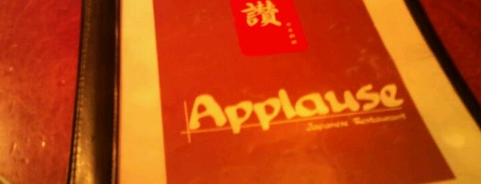 Applause Japanese Restaurant is one of Top picks for Japanese Restaurants.