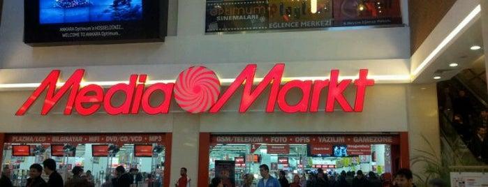 MediaMarkt is one of Ankara.