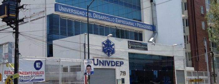 UNIVDEP is one of Lugares favoritos de Laura.