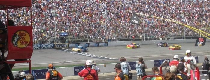 ミシガン・インターナショナル・スピードウェイ is one of My NASCAR.