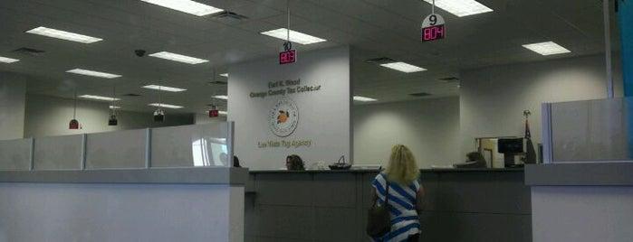 Orange County Tax Collector - Lee Vista location is one of Locais curtidos por mubasen.