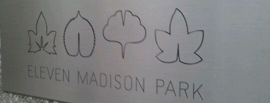 Eleven Madison Park is one of New York City.
