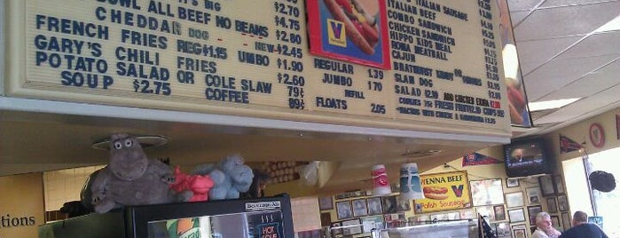 Hippo's Hot Dogs is one of Troy-ish restaurants.