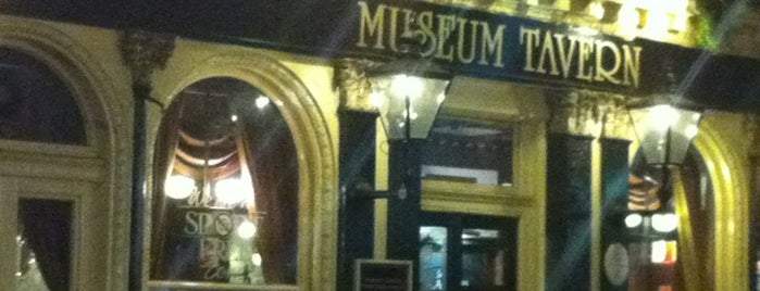 Museum Tavern is one of Tired of London, Tired of Life (Jan-Jun).
