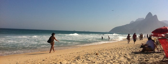 Ipanema Beach is one of Top 10 favorites places in Rio de Janeiro, Brasil.
