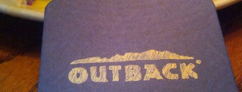 Outback Steakhouse is one of Janelle 님이 좋아한 장소.