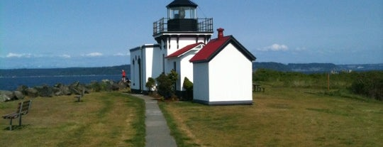 Point No Point Lighthouse is one of Kitsap County.