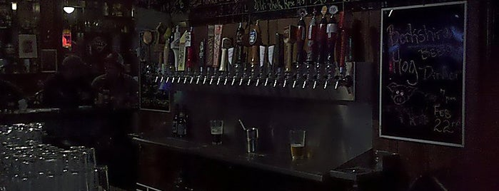 Buckeye Beer Engine is one of Draft Magazine Best Beer Bars.