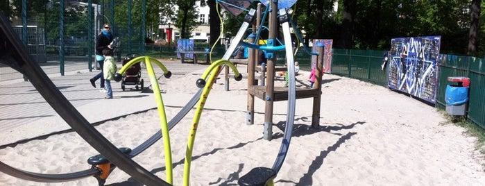 Spielplatz Arnimplatz is one of Playgrounds in Berlin.