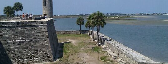 Castillo De San Marcos National Monument is one of St. Augustine, Florida.