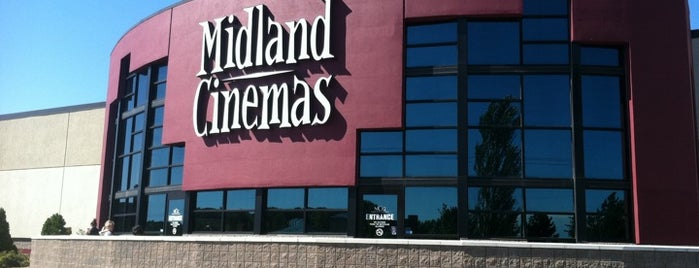 NCG Midland Cinemas is one of Heather : понравившиеся места.