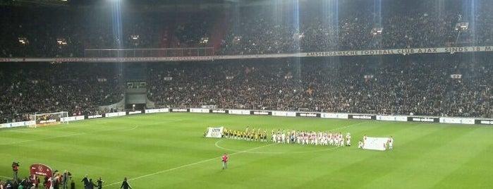 Johan Cruijf Arena is one of Amsterdam ADventure.