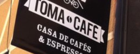 Toma Café is one of Elena 님이 저장한 장소.