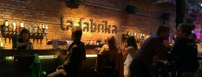 La Fabrika is one of Prague7.