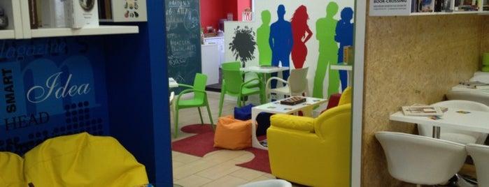 Smart Cafe BIBLIOTECH is one of Опенспейс.