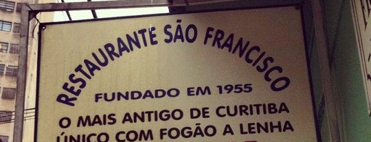 Restaurante São Francisco is one of Curitiba Old School.