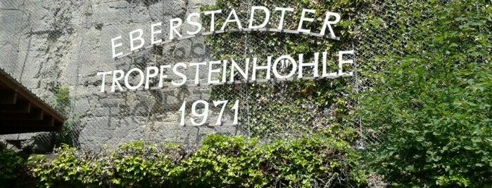 Eberstadter Tropfsteinhöhle is one of Posti che sono piaciuti a Steffen.