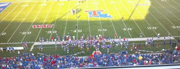 Joe Aillet Stadium is one of FBS Stadiums.