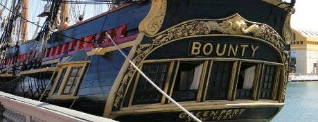 HMS Bounty is one of ♪ En Mi Viejo San Juan ♫.