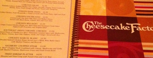The Cheesecake Factory is one of Must-visit American Restaurants in West Nyack.