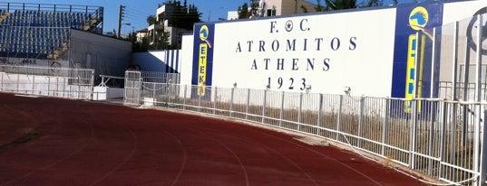 Δημοτικό Στάδιο Περιστερίου is one of A local's guide: 48 hours in Athens.