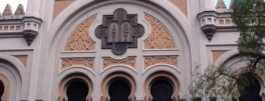 Španělská synagoga is one of Pražská muzejní noc 2016 | Prague Museum Night.