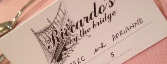 Riccardo's by the Bridge is one of Lieux qui ont plu à Eddie.