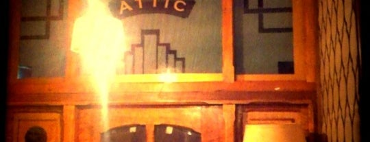 The Attic is one of Melbourne's Bars, Pubs, Lounges.