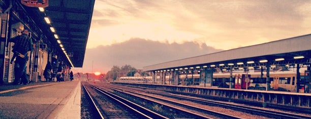 Tonbridge Railway Station (TON) is one of You calling me a train spotter?.