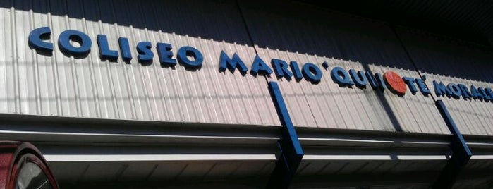 """Coliseo Mario """"Quijote"""" Morales is one of Arenas, Parks & Stadiums."""